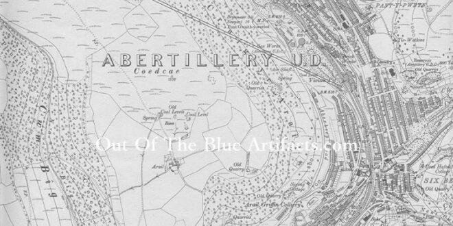 Vivian Colliery Aerial Ropeway Map