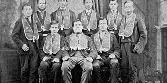 Officers of the Good Templars Lodge Cwmtillery 1870s