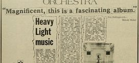 ELECTRIC LIGHT ORCHESTRA – FIRST ALBUM REVIEW.