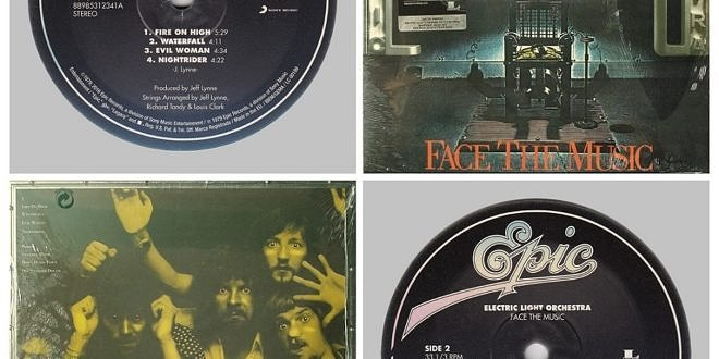 FACE THE MUSIC…….UNITED KINGDOM (CLEAR VINYL)