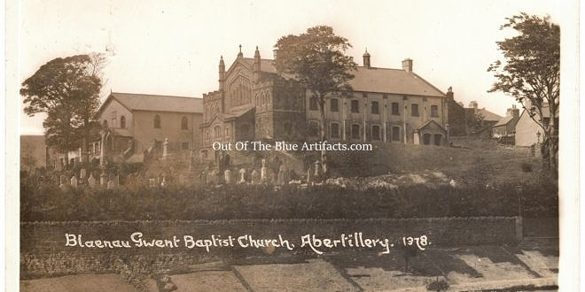 Blaenau Gwent Baptist Church – New Construction 1905