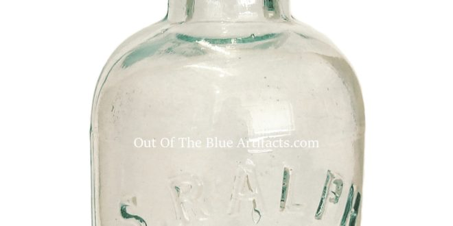 Mr S. Ralph & Sons Mineral Water Bottle – Abertillery