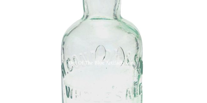 H. Connop & Son Glass Bottle – Beaufort Street, Brynmawr