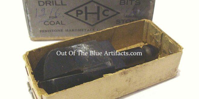 Coal Boring Bit – Boxed
