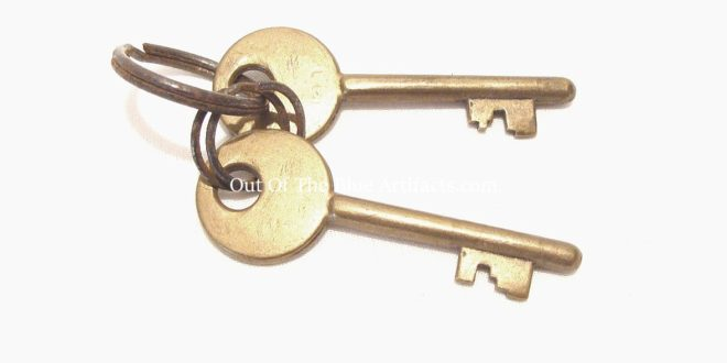Colliery Baths Locker Keys