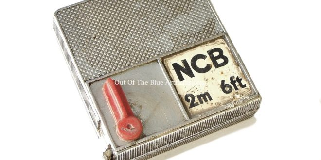 N.C.B. Steel Measuring Tape