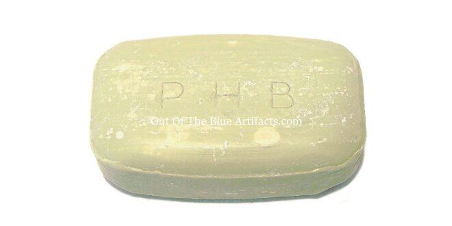 Pithead Baths Soap. (P.H.B.)