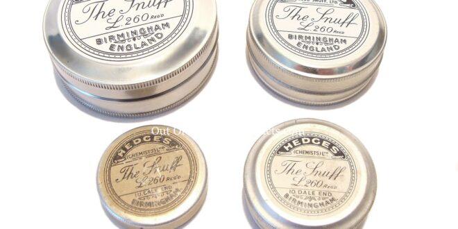 Hedges Snuff Tins