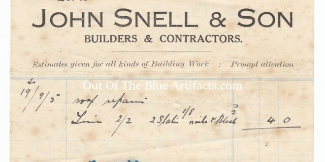 Mr John Snell & Son, Builders and Contractors