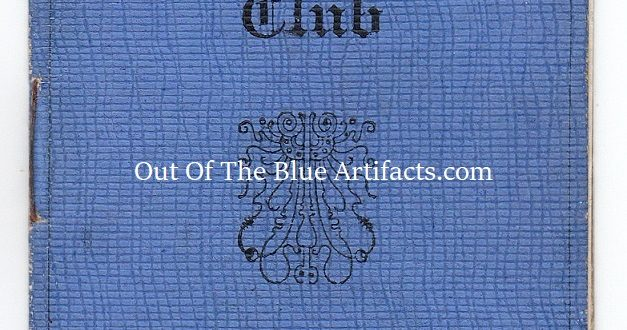 An Old Tyleryan's Association Membership Card