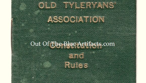 The Old Tyleryan's Association Membership Constitution and Rules Card