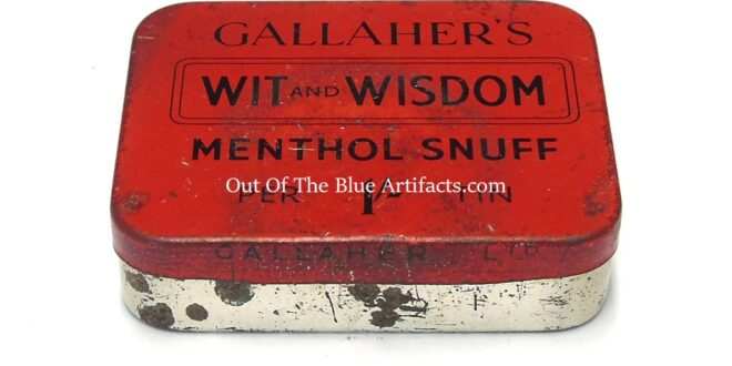 Old Snuff Tin – Gallaher's Wit and Wisdom