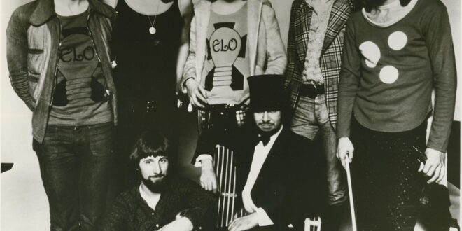 The Electric Light Orchestra 1973.
