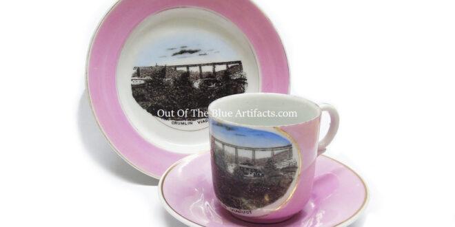 Crumlin Viaduct – A Commemorative Three Piece Tea Set