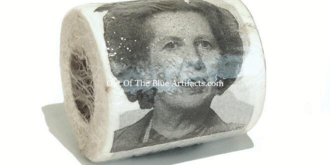 Mrs Margaret Thatcher Toilet Roll – 1980's