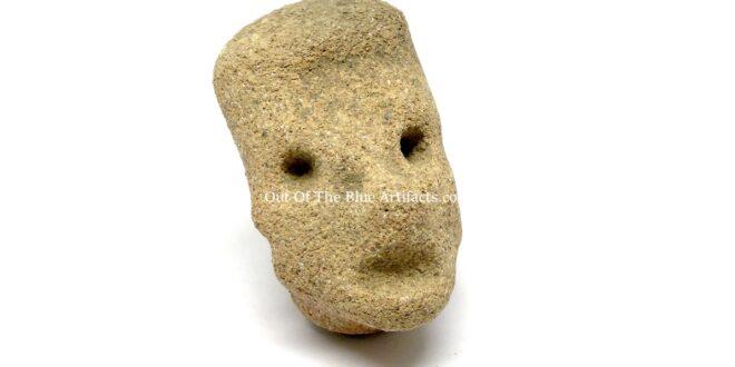 A Mesoamerican Sandstone Head