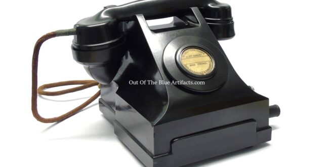 Colliery Surface Table Telephone