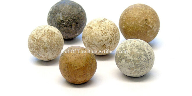 American War of Independence Musket Balls