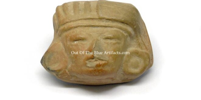 Teotihuacan Clay Head