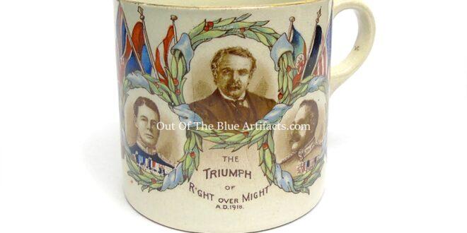 A 1919 Peace Mug – The Urban District Council of Abertillery