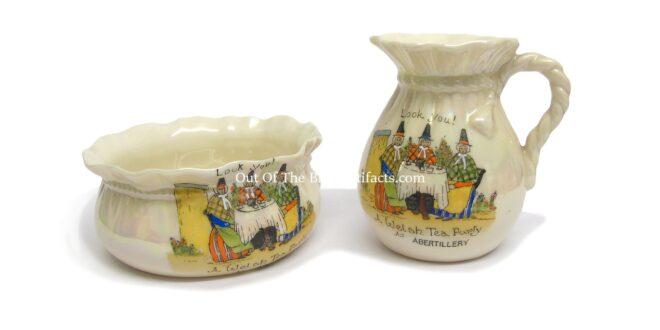 Abertillery – Ornamental Jug and Bowl Set