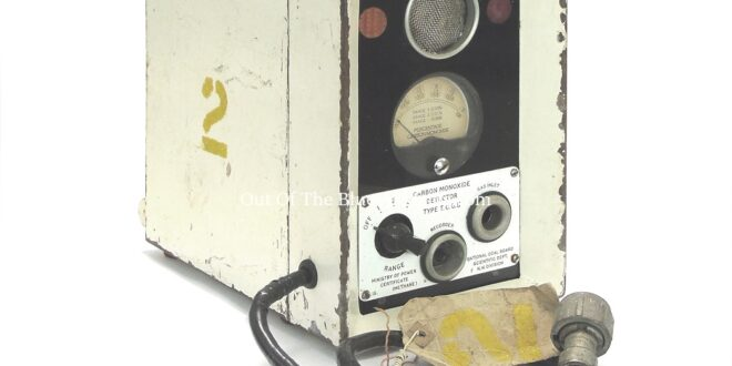 Carbon Monoxide Detector – National Coal Board