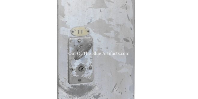 A Colliery Pithead Baths Locker Door