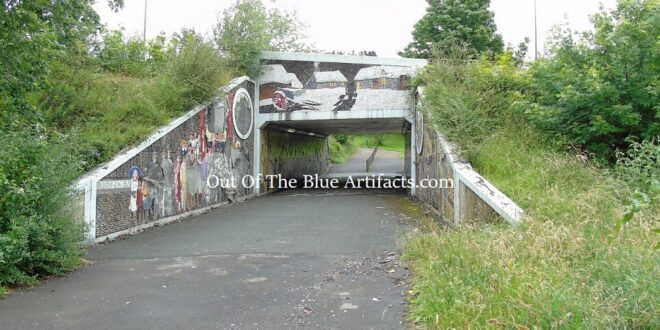 The A467 Main Road Underpass Mosaics – The Story