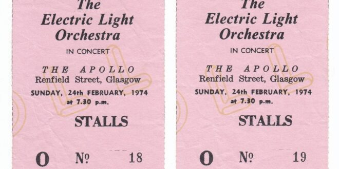 The Electric Light Orchestra – On The Third Day Tour 1973-74