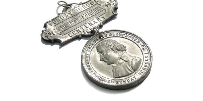 Sunday School Centenary Medallion – English Baptist Chapel Abertillery