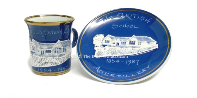 Commemorative Mug and Plate – British School Abertillery