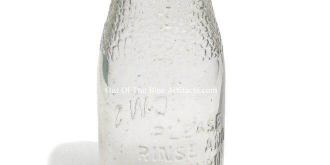 C.W.S. Milk Bottle