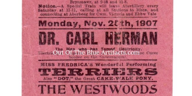 The Pavilion Theatre – Handbill